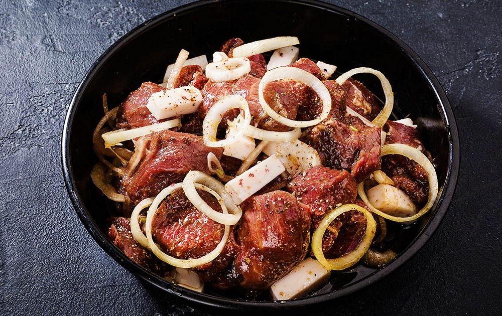 Маринад для армянского шашлыка из говядины