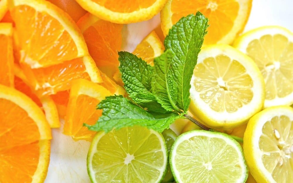 Апельсин, лимон и лайм
