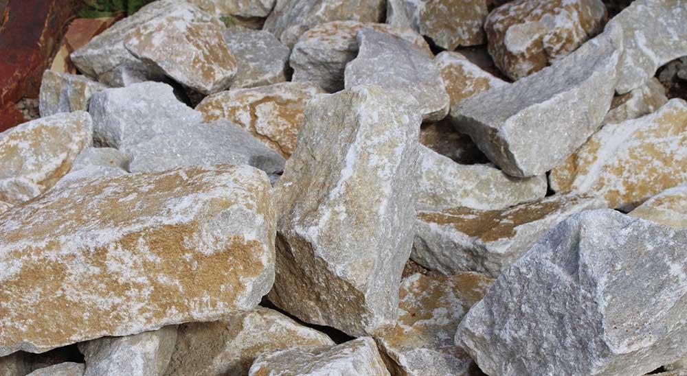 Бутовый камень для мангала