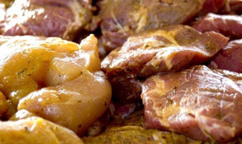 Горчичный маринад для свинины