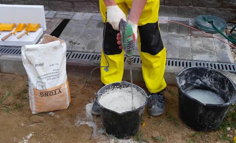 Клей для газоблоков