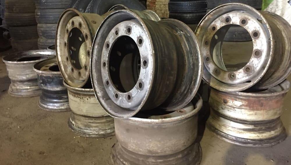Колёсные грузовые диски