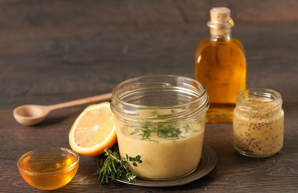 Маринад из мёда, горчицы и лимонного сока