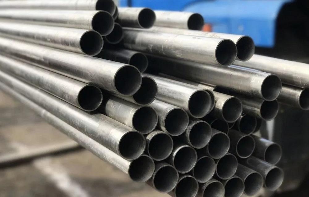 Металлические трубы для мангала