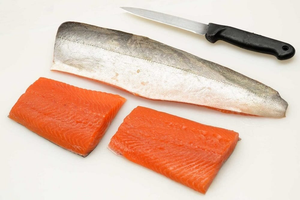 Мясо рыбы голец