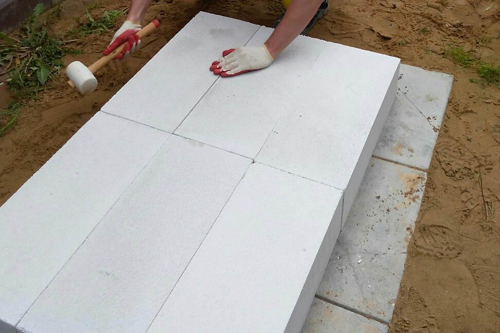 Основание мангала из бетона
