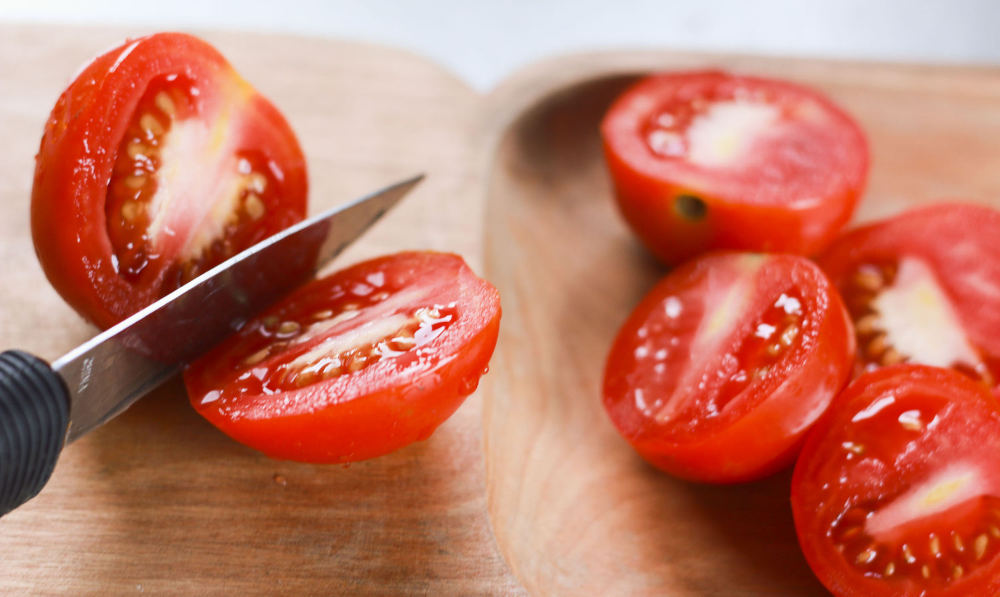 Помидоры для салата из шашлыка