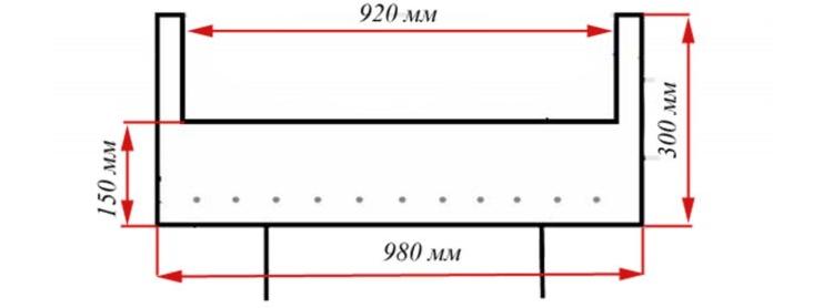 Размеры мангала из бочки