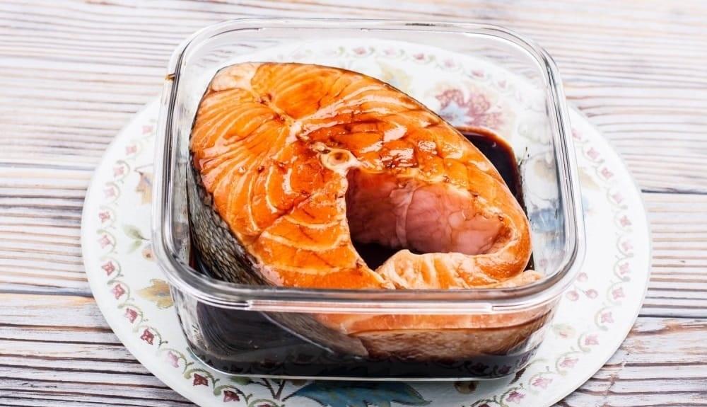 Соевый маринад для рыбы голец