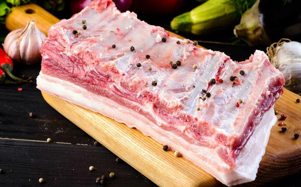 Свиная грудинка для шашлыка