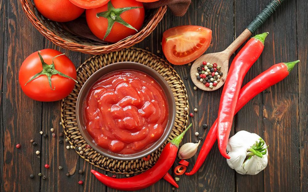 Томатный соус с перцем для турецкого шашлыка