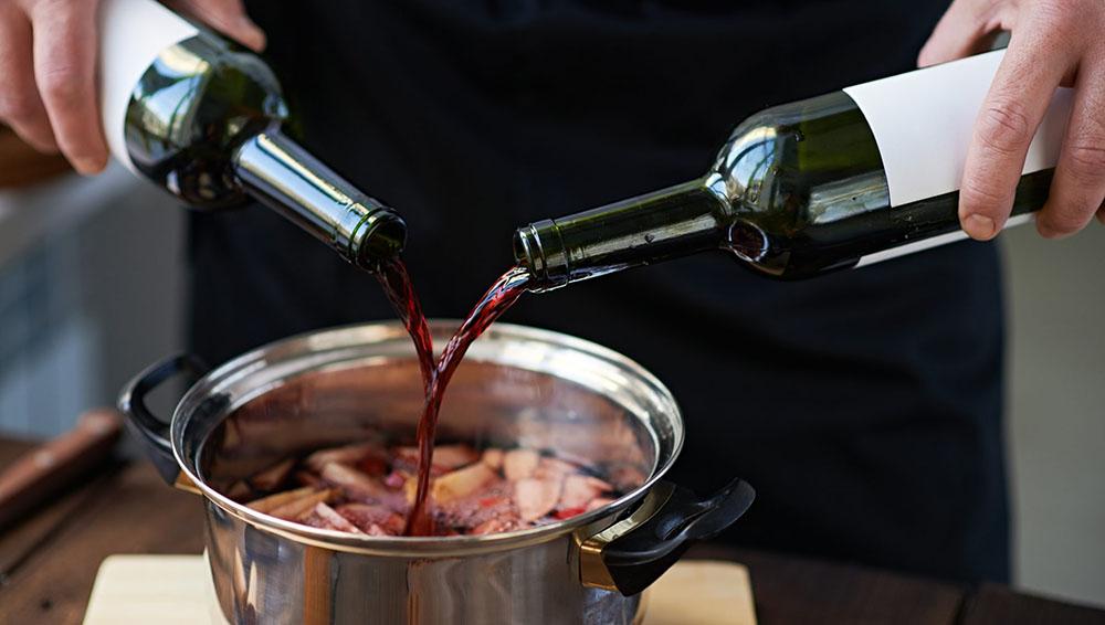 Винный маринад для шашлыка из свинины