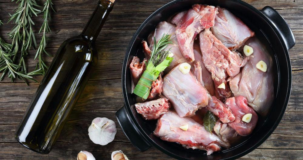 Винный маринад для свиной шеи