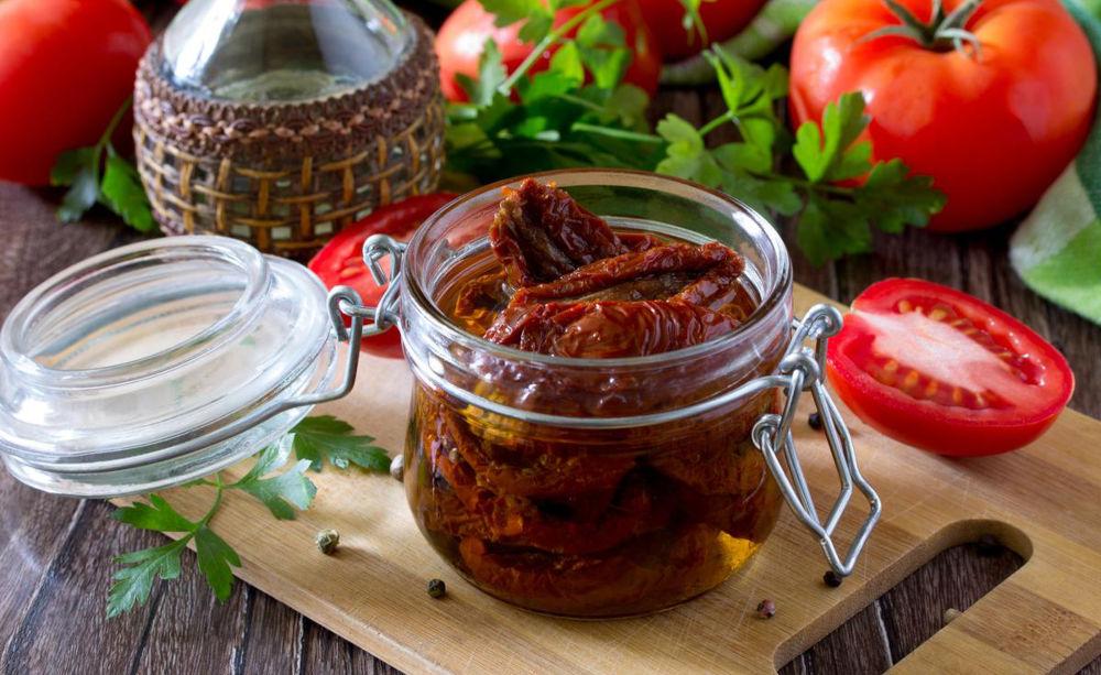 Вяленые томаты для свиной грудинки