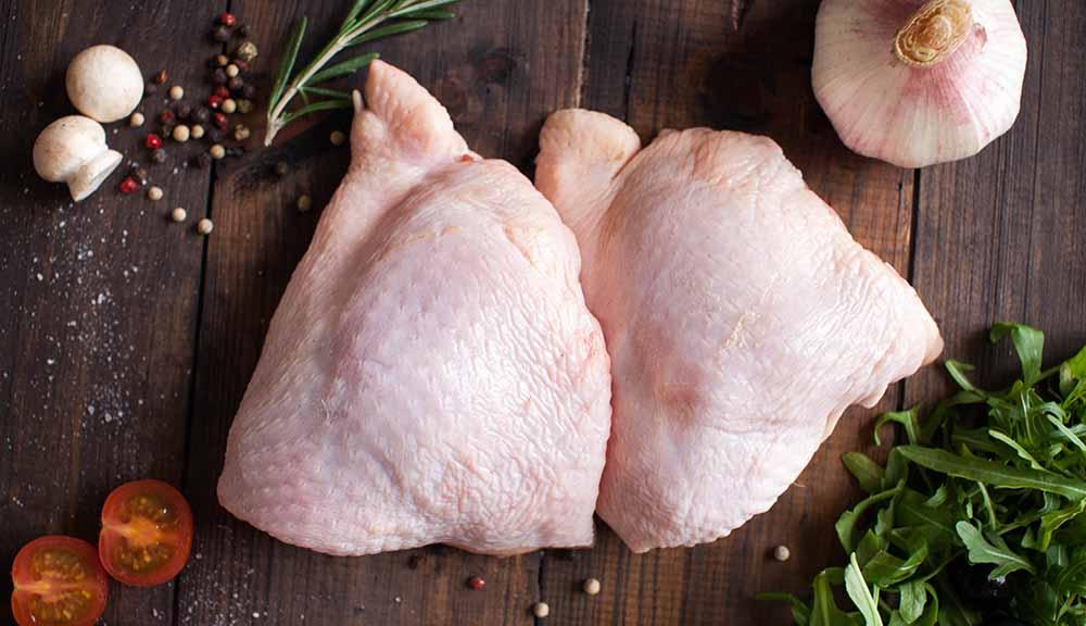 Бёдрышки курицы для шашлыка