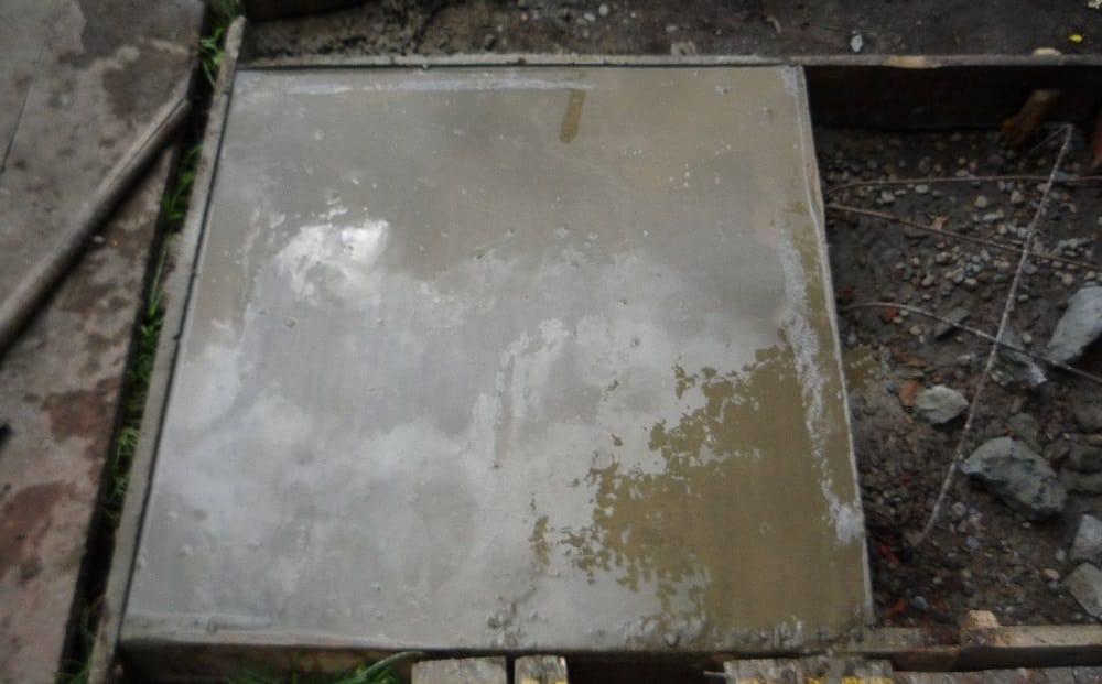 Бетон для фундамента кирпичного мангала