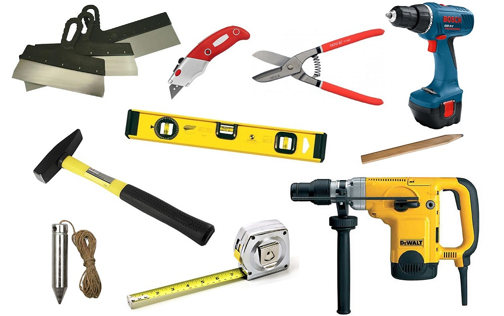 Инструменты для кирпичного мангала