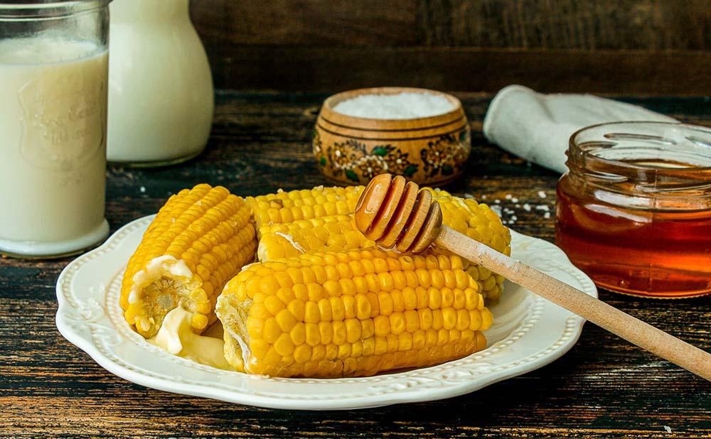 Кукуруза с мёдом