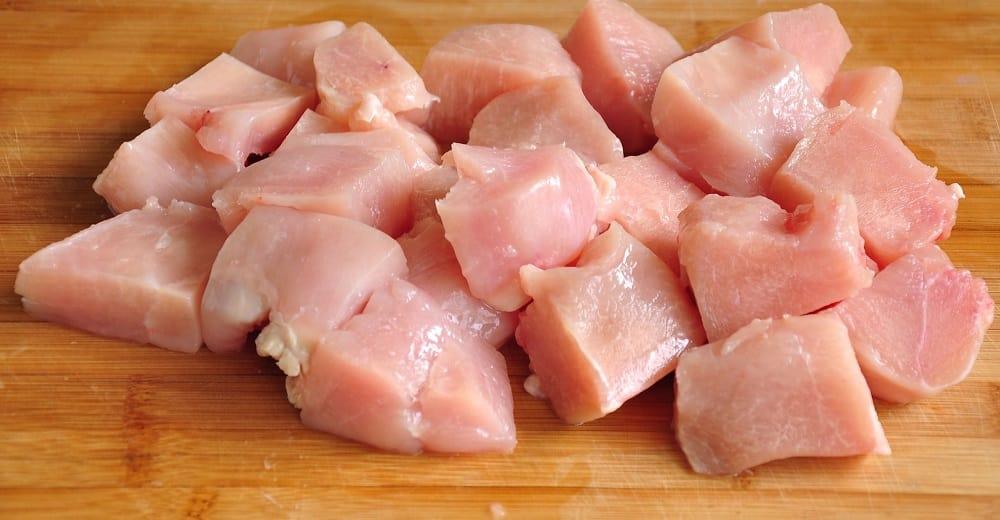 Курица для маринада из киви