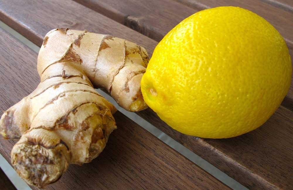 Лимон и имбирь для печени