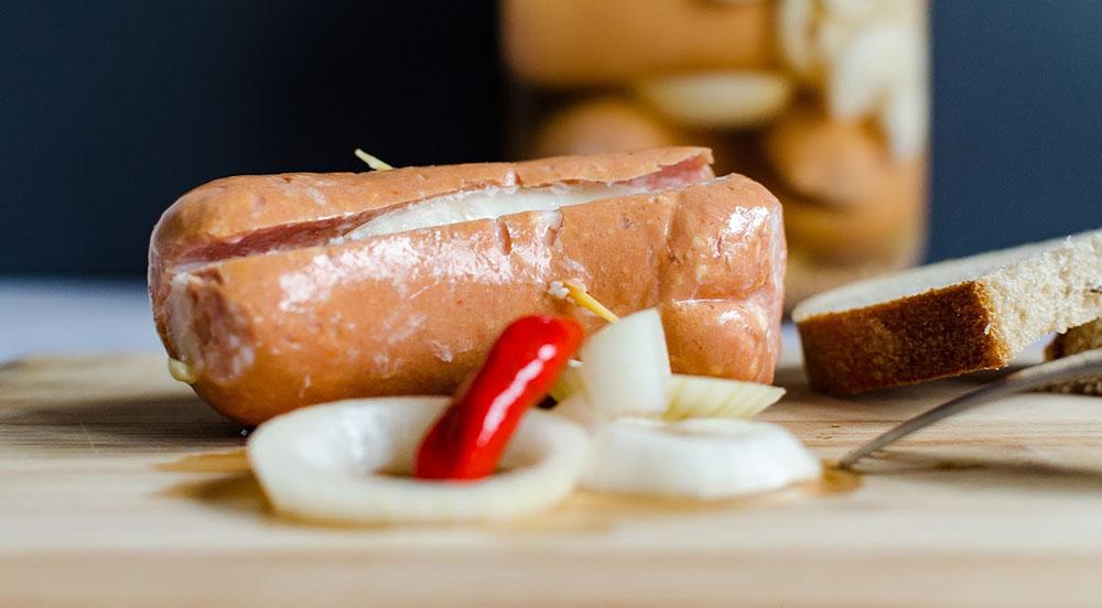 Маринованные сосиски утопенцы