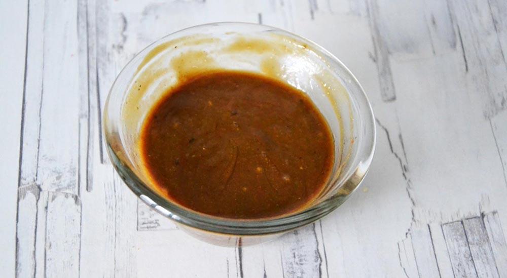 Мёд, горчица и соевый соус