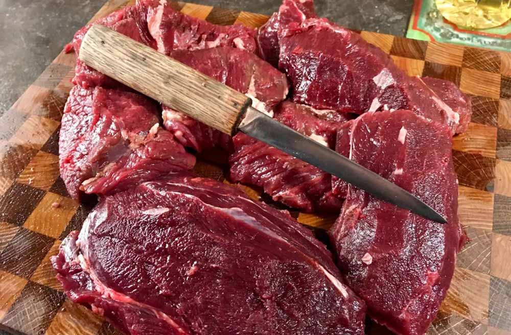 Мясо дикого кабана для шашлыка