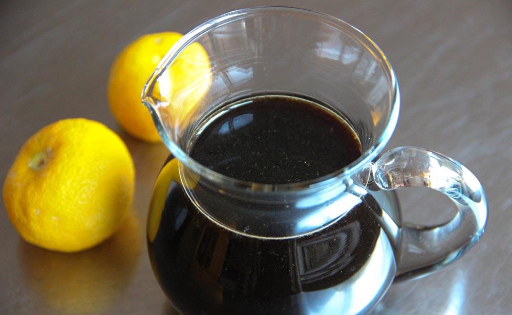 Соевый соус и лимоны для сердечек