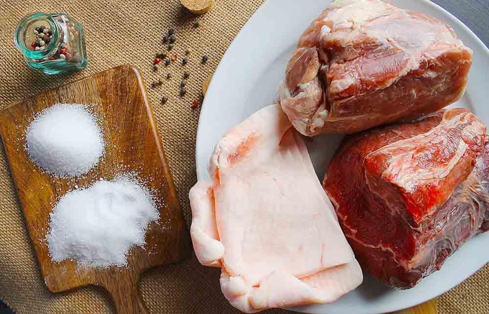 Состав домашних свиных сосисок