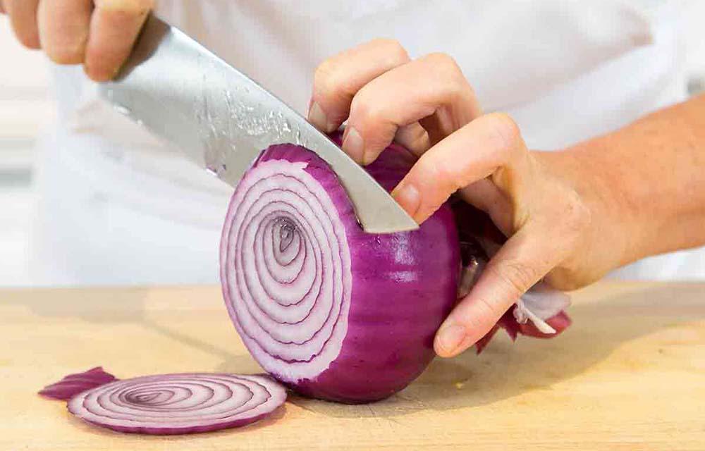 Кольца лука для томатов