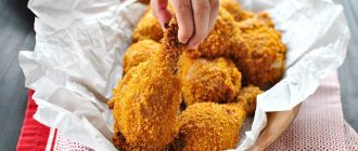 Куриные ножки как в KFC