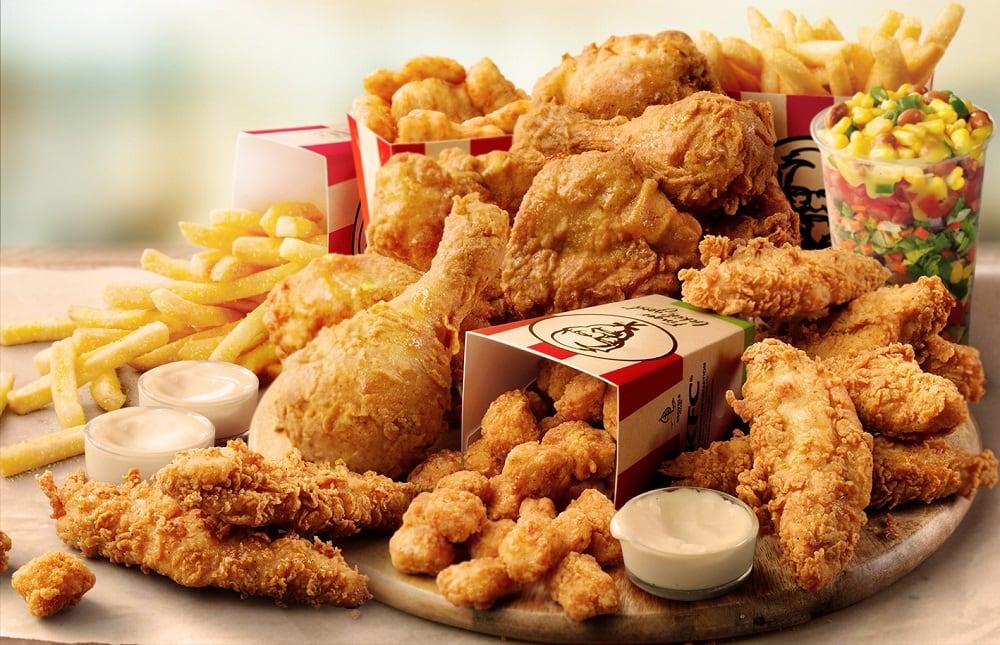 Курица из ресторана KFC