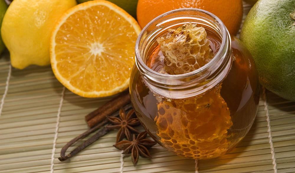 Мёд, апельсин и специи