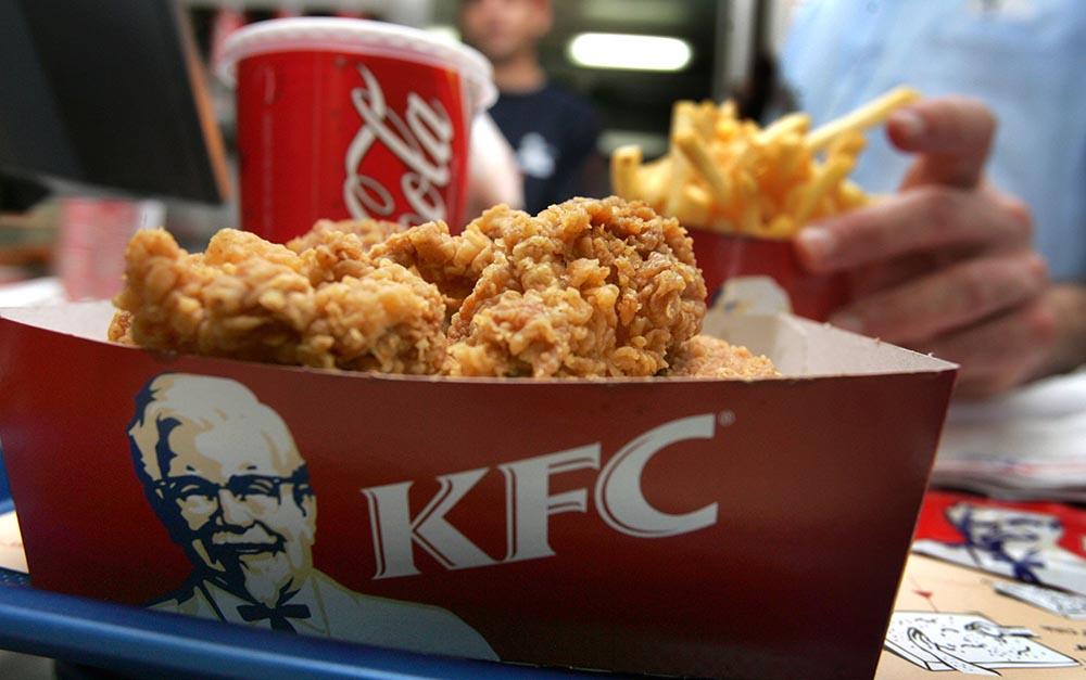 Настоящие байтсы KFC