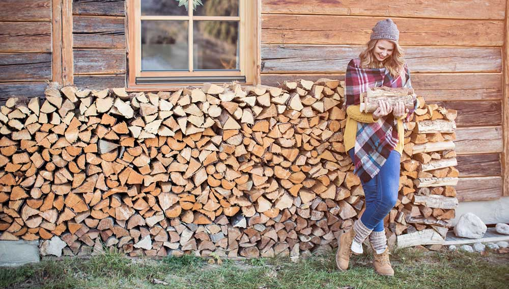 Охапка дров для шашлыка
