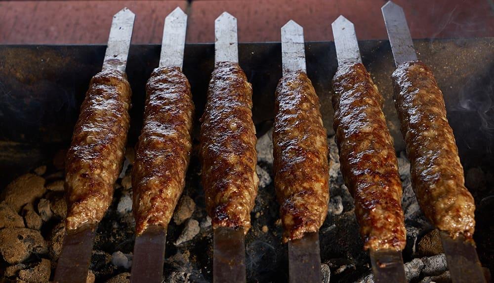 Шампуры с говядиной