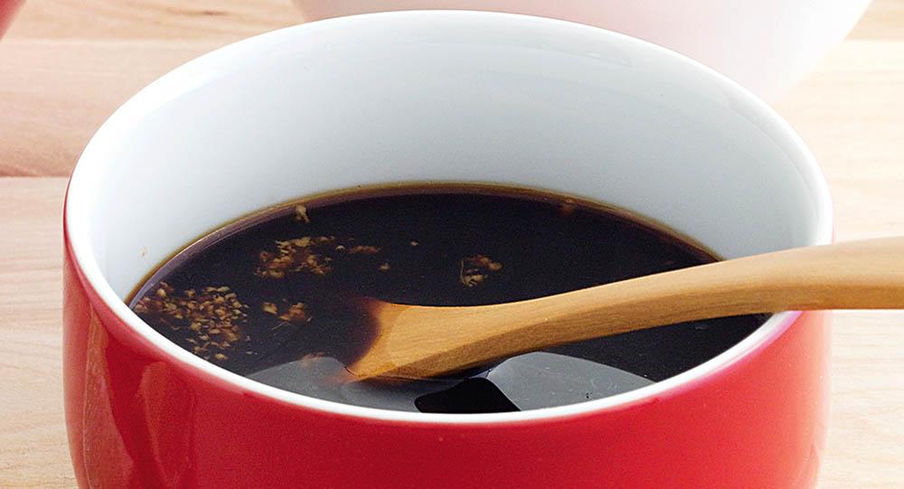 Соевый соус с чесноком для тофу