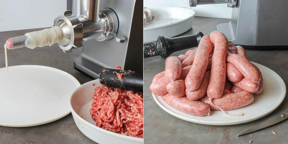 Сосиски из говядины