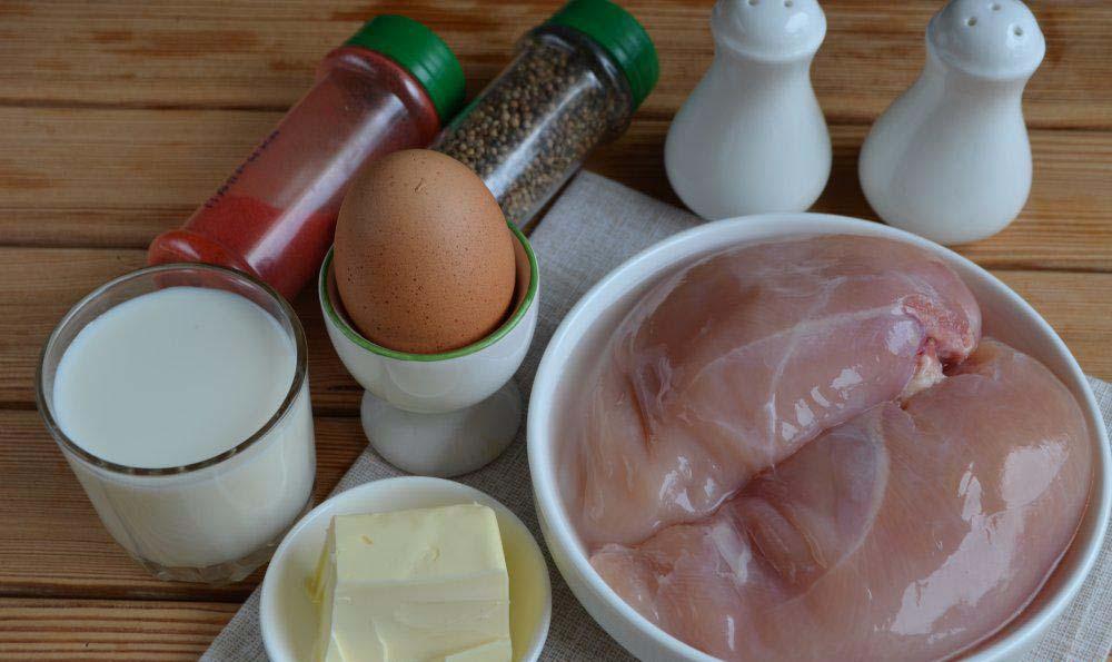 Состав куриных сосисок