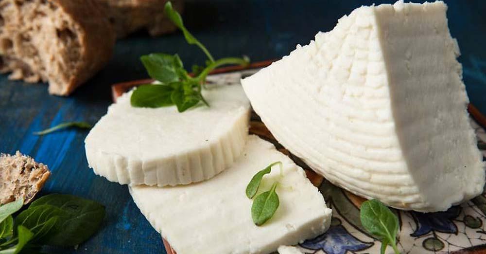 Адыгейский сыр на столе
