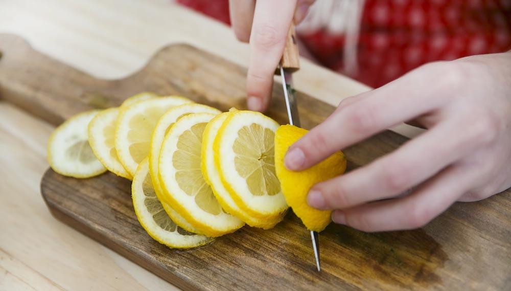 Лимон для свинины