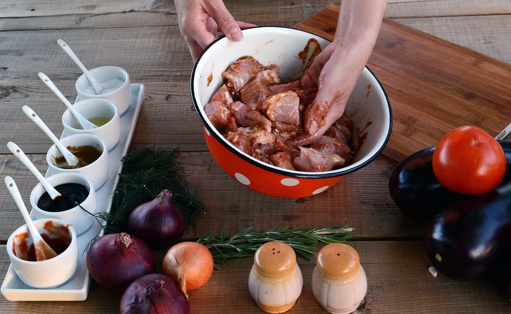 Маринад для свиного окорока