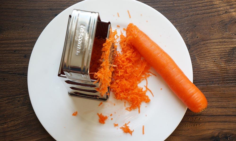 Морковь и тёрка