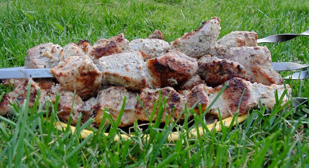 Шашлык из окорока свинины