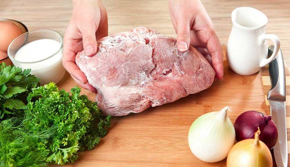 Замороженное мясо для шашлыка